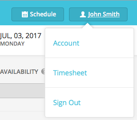 how to view your timesheets makeshift support